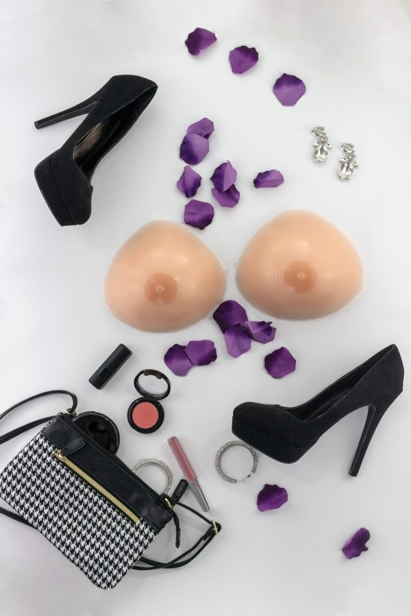 TRANSFORM natural look triangle breast forms