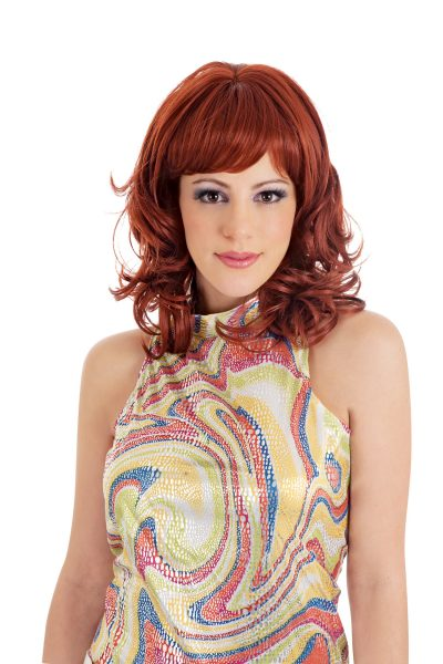 Risque medium length wig