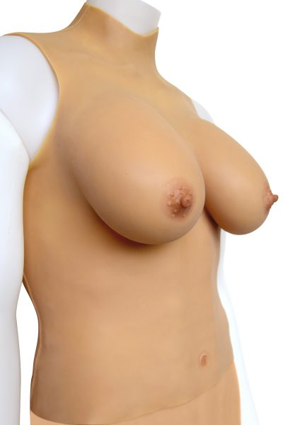 Gold Seal NAKED Silicone Breastplate