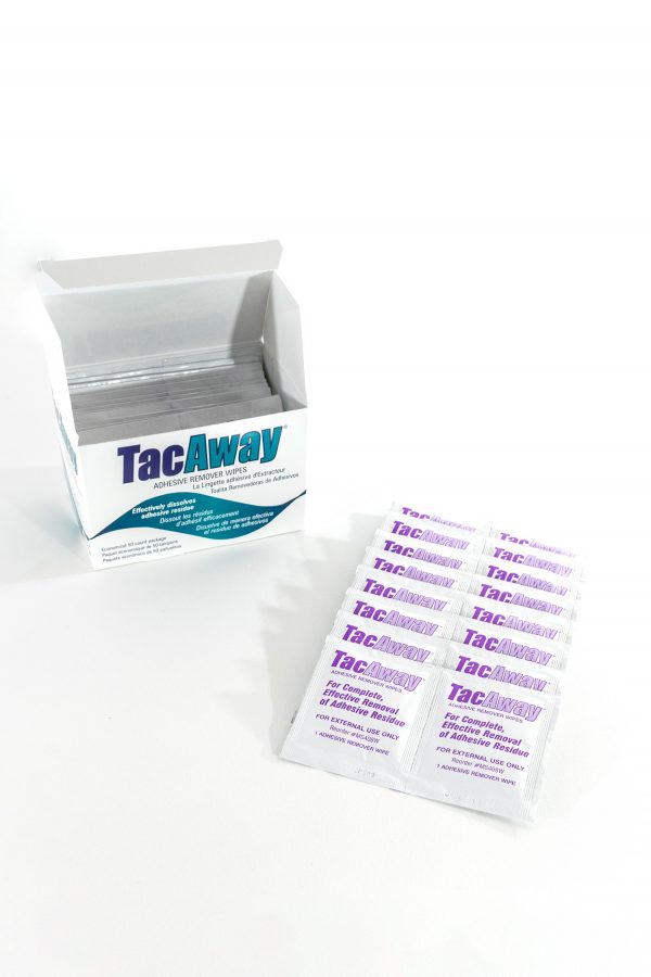 50 tac away wipes