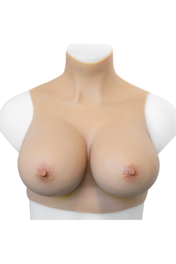 Gold Seal NAKED Silicone Crop Top breastplate